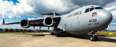 Boeing C-17A Globemaster III Fotografie Stock Libere da Diritti