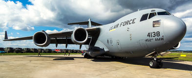 Boeing C-17A Globemaster III Royalty Free Stock Photos