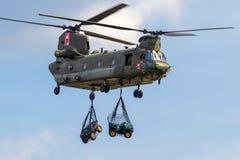 Boeing CH-47 ελικόπτερο σινούκ στοκ φωτογραφίες με δικαίωμα ελεύθερης χρήσης