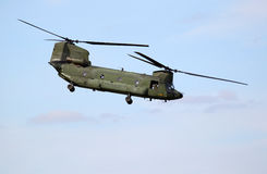 Boeing CH-47D Chinook Helicopter Royalty Free Stock Images