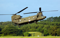 Boeing CH-47D Helicopter Royalty Free Stock Photography