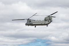 Boeing CH-47 Chinook. The Boeing CH-47 Chinook is an American twin-engine, tandem rotor heavy-lift helicopter. Its primary roles are troop movement, artillery Royalty Free Stock Images