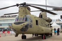 Boeing CH-47 Chinook för USA-armé helikopter Arkivfoton