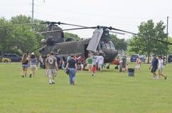 Boeing CH-47 Chinook skärm Royaltyfria Bilder