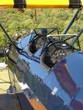 Boeing classique admirablement reconstitué Stearman images libres de droits
