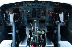 Boeing 737 cockpit Royalty Free Stock Image