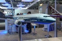 Boeing Company的立场 免版税库存照片