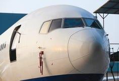 Boeing-Düsenflugzeug Stockfotografie