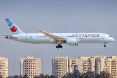 Boeing 787 d'Air Canada photographie stock libre de droits
