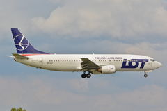 Boeing 737-45D Stock Image