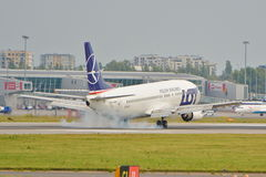 Boeing 737-45D Stock Photography