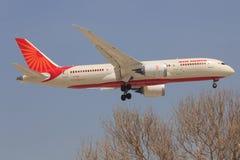 Boeing 787 de Air India Fotografia de Stock Royalty Free
