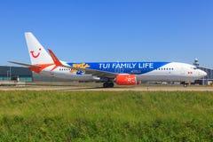 Boeing 737 de cargaison de ciel Images stock