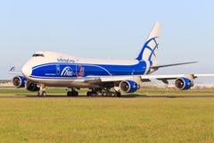Boeing 748 de cargaison d'ABC Photographie stock