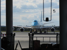 Boeing 747 de Korean Air Photos stock