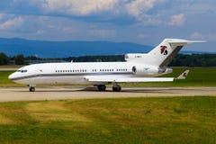 Boeing 727 des services de platine Images stock