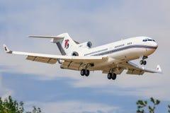 Boeing 727 des services de platine Image stock