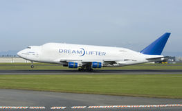 Boeing Dreamlifter Stock Photo