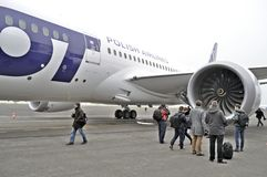 Boeing 787 Dreamliner Royaltyfri Fotografi