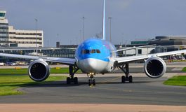 Boeing 787 Dreamliner Immagine Stock