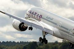 787 boeing dreamliner royaltyfri foto