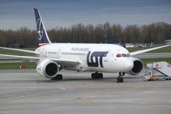 Boeing 787 Dreamliner fotografia de stock royalty free