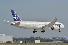 Boeing 787-8 Dreamliner Arkivfoton