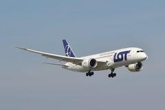 Boeing 787-8 Dreamliner Lizenzfreie Stockfotografie