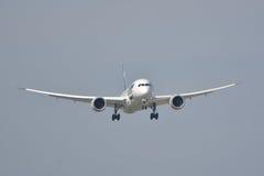 Boeing 787-8 Dreamliner Royaltyfri Bild