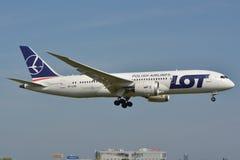Boeing 787-8 Dreamliner Royaltyfri Foto