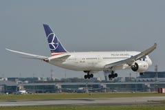 Boeing 787-8 Dreamliner Royaltyfri Fotografi