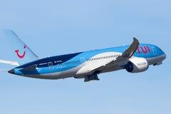 787 boeing dreamliner Royaltyfria Foton