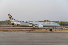 787 boeing dreamliner Arkivbilder