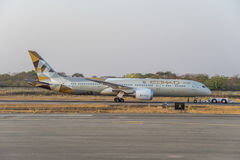Boeing 787 Dreamliner Immagini Stock
