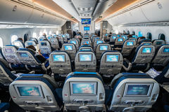 Boeing 787 Dreamliner Stockfotos