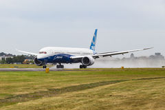 Boeing 787-9 Dreamliner Royaltyfria Foton