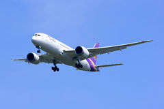 Boeing 787-800 Dreamliner HS-TQA de Thaiairway Photos stock
