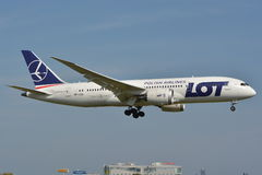 Boeing 787-8 Dreamliner Royalty Free Stock Photo