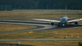 Boeing 787 Dreamliner Wietnam linie lotnicze po przyjeżdżający zdjęcie wideo