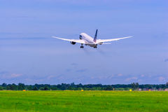 Boeing 787 Dreamliner. Royalty Free Stock Photos
