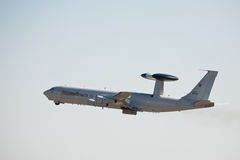 Boeing E-3A Sentry AWACS Stock Photography