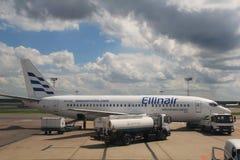Boeing 737 Ellinair Fotografía de archivo libre de regalías
