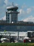 Boeing 767 ER krzepy linie lotnicze przy fartuchem Obrazy Royalty Free
