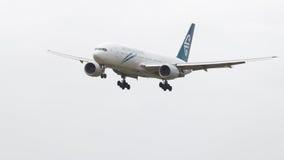Boeing 777-219 ER Nuova Zelanda Fotografia Stock