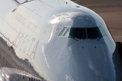 boeing för 747 flygplats delta narita Royaltyfria Bilder