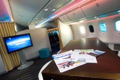 boeing för 787 bräde galleri Royaltyfri Fotografi