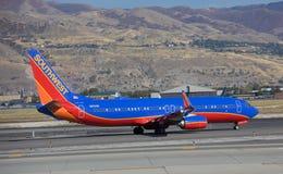 boeing för 737 flygbolag southwest Royaltyfri Foto