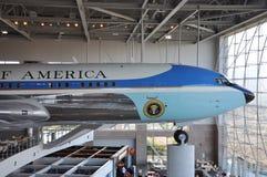 boeing för luft 707 kraft en Arkivbild