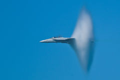 Boeing F/A-18F Super Hornet aircraft Stock Photography