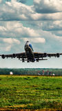 Boeing 747-400F ABC Fotografia de Stock Royalty Free